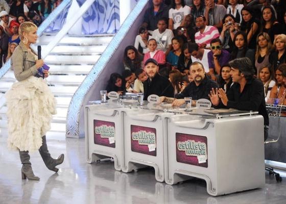 Xuxa recebe Samuel Cirnansck, David Pollak e Alexandre Borges no TV Xuxa (4/9/10)