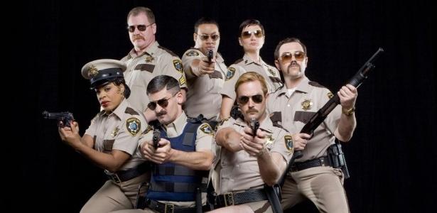 Reno 911 é uma paródia das séries policiais americanas