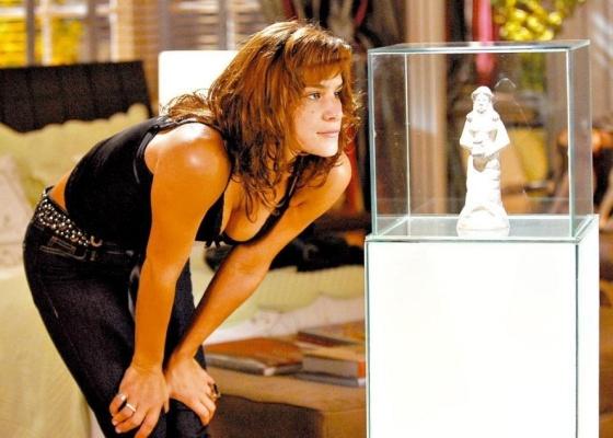 Priscila Fantin durante gravação da novela Sete Pecados (15/5/07)