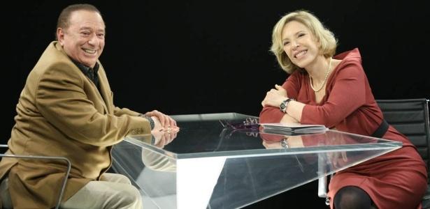 O apresentador Raul Gil não gostou de piada feita com seu nome por Marco Mion