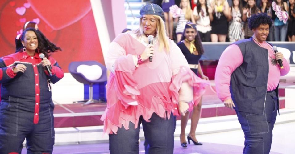 Rodrigo Faro se veste de Fat Family em