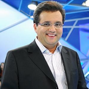 Geraldo Luiz, apresentador de programa jornalístico da Record