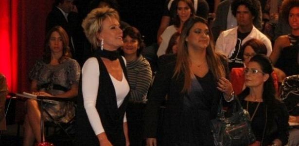 Ana Maria Braga e Preta Gil participam de gravação de