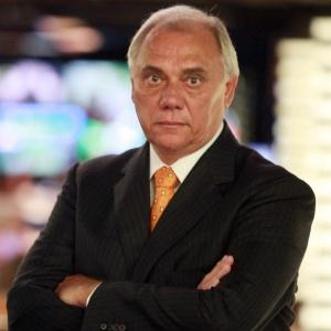 O apresentador Marcelo Rezende