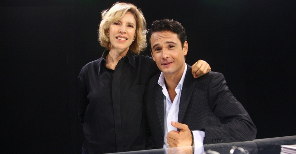 Marília Gabriela entrevista Rodrigo Santoro no