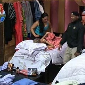 Melancia, Janaina e Viola conversam durante massagem (1/10/2010)