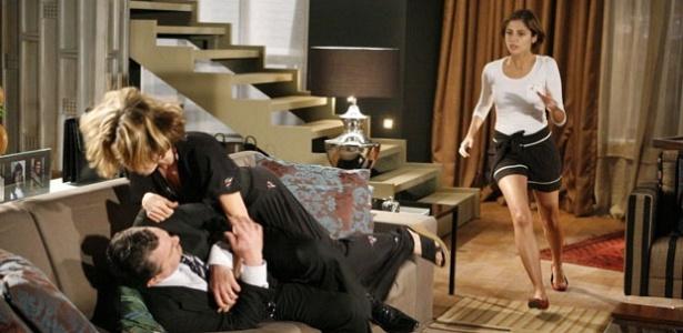 Werner Schünemann, Maitê Proença e Tammy Di Calafiori gravam cenas de
