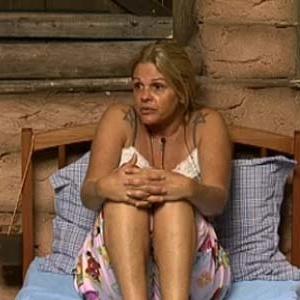 Monique Evans conversa com roceiros Luiza e Sérgio Abreu (07/10/10)