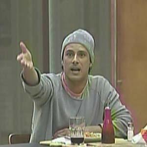 Sergio Abreu briga com Nany People na hora do almoço (09/10/2010)
