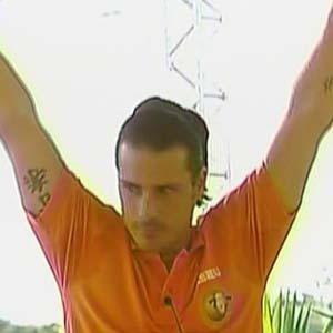 Sergio Abreu comemora após vencer prova do Fazendeiro da Semana