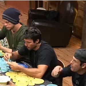 Reunidos na mesa do jantar, peões falam sobre Janaina Jacobina (09/10/2010)