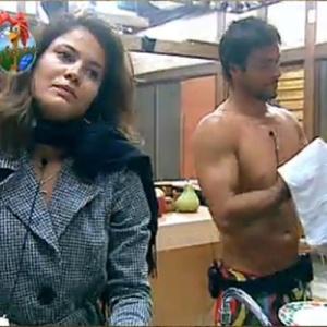 Daniel elogia Carol na cozinha (10/10/10)