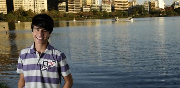 O ator Caio Vydal (17/10/2010)