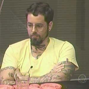 Tico Santa Cruz conversa com Carrasco e Abreu na cozinha (16/10/2010)