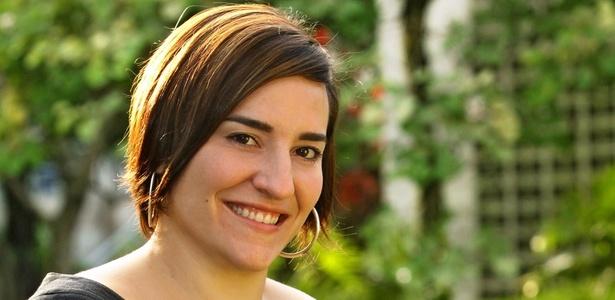 A atriz Simone Guitierrez (24/10/2010)