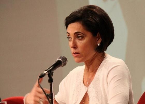 Christiane Torloni participa de seminário na ABL, no centro do Rio (21/10/10)