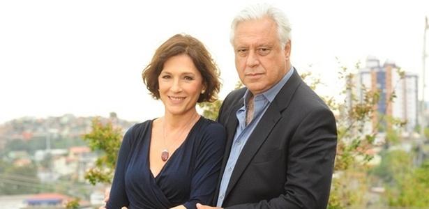 Antonio Fagundes e Natália do Vale vivem o casal Raul e Wanda em