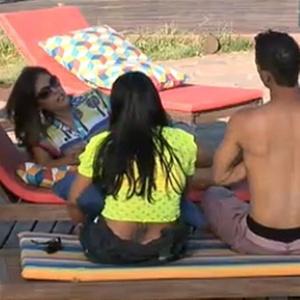 Dudu Pelizzari, Ana Carolina Dias e Andressa Soares conversam sobre votação (2/11/10)