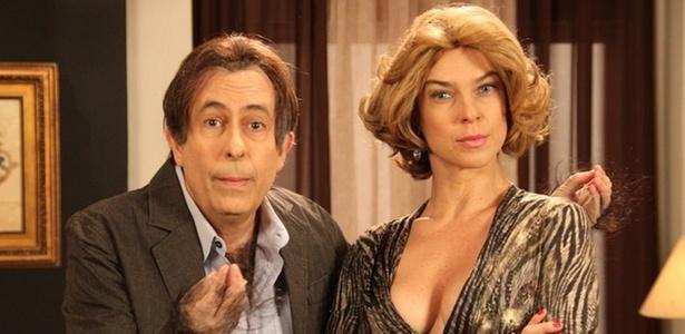 Reinaldo e Maria Paula gravam cenas de