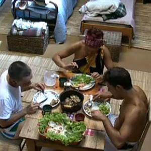 Carlos Carrasco, Nany People e Sergio Abreu almoçam na Casa da Roça (03/11/10)