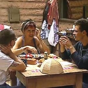 Carrasco, Nany e Abreu conversam na Casa da Roça (3/11/10)
