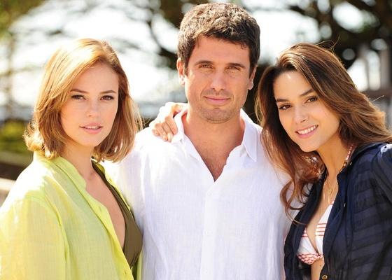 Paola Oliveira, Eriberto Leão e Fernanda Machado gravam Insensato Coração (3/11/10)