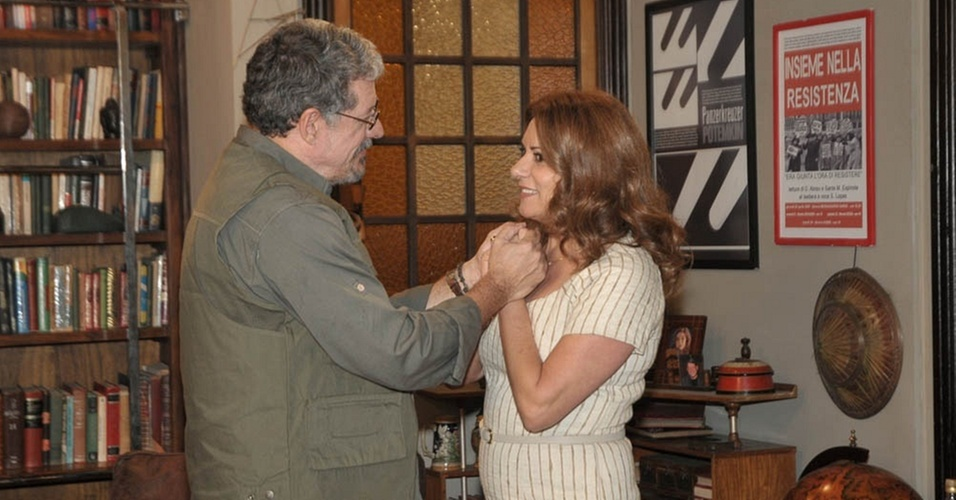 Antônio Grassi e Patrycia Travassos em cena de