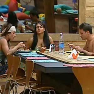 Sergio Abreu e Piu-Piu elogiam a comida feita por Melancia (8/11/10)