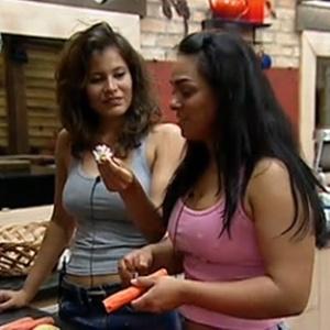 Andressa Soares e Ana Carolina Dias acham que Lizzi deveria ficar com Daniel Bueno (9/11/10)