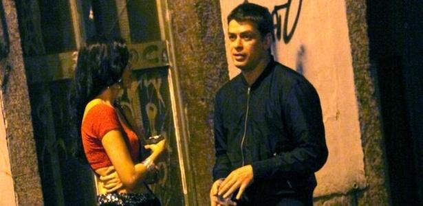 Fábio Assunção grava cenas como o Leo de Insensato Coração nas ruas do Rio (10/11/10)