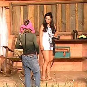Janaina conta para Melancia que o espelho fala com ela (18/11/10)