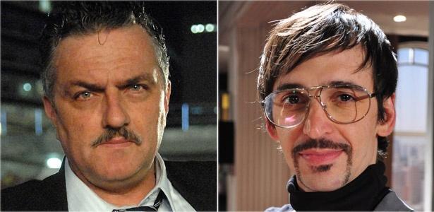 Werner Schünemann e Júlio Andrade interpretam Sauloe Arthurzinho, em Passione (24/11/10)
