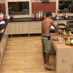 Daniel prepara refeição saudável neste domingo (28/11/10)