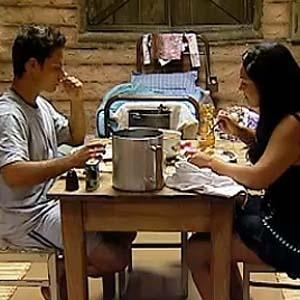 Sergio Abreu e Melancia jantam na Casa da Roça (02/12/10)