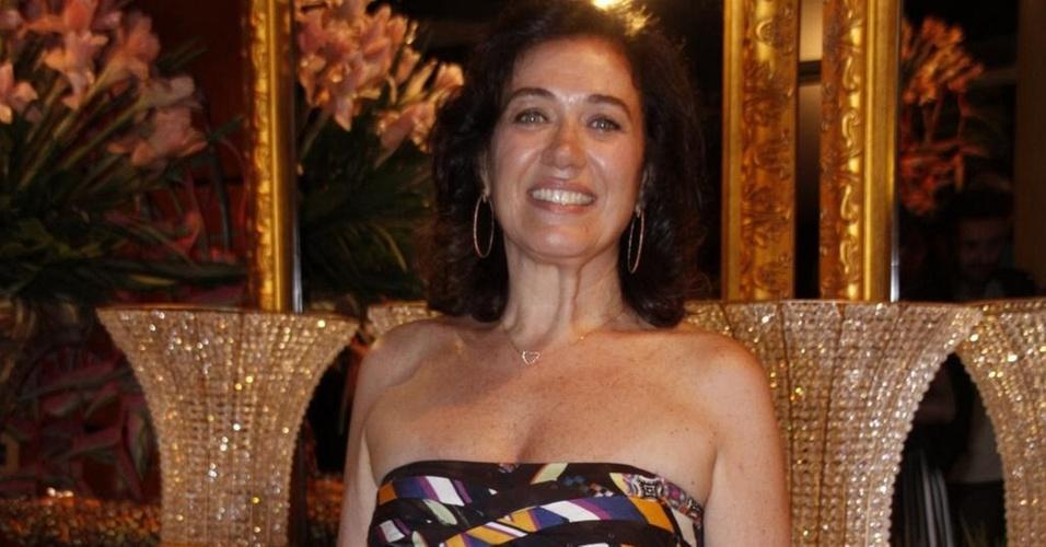 Lília Cabral no Prêmio Arte Qualidade Brasil 2010, no Citibank Hall (30/11/2010)