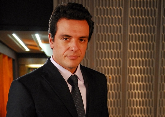 Rodrigo Lombardi em cena de Passione (setembro/2010)