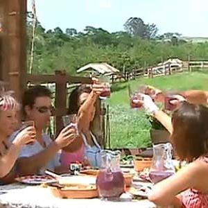 Peões brindam em almoço de confraternização (09/12/10)