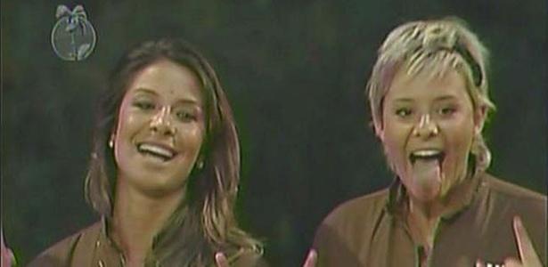 Lizzi e Luiza comemoram vitória no Desafio Semanal (05/12/10)
