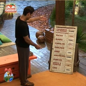 Sergio tem seu primeiro dever como Fazendeiro (11/12/10)