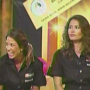 Lizzi Benites e Ana Carolina Dias perdem prova e disputam a próxima Roça (13/12/2010)