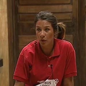 Lizzi Benites diz a colegas como acha que será final do programa (15/12/10)