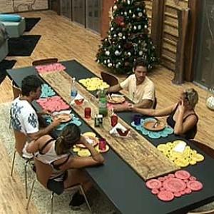 Daniel, Lizzi, Sergio e Luiza almoçam juntos nesta quinta (16/12/10)