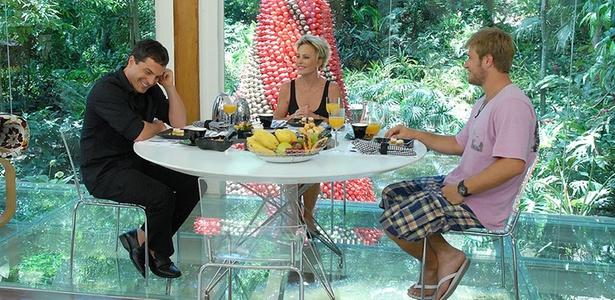 Ana Maria Braga recebe Daniel Boaventura e Diego Alemão no
