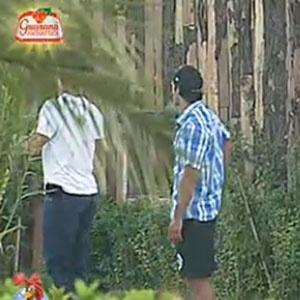 Daniel Bueno e Sergio Abreu iniciam suas atividades na fazenda (20/12/10)