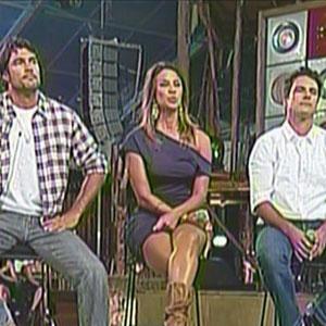 Daniel, Lizzi e SErgio Abreu esperam anúncio de quem será o campeão (21/12/2010)
