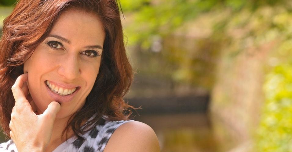 A atriz Maria Clara Gueiros (29/12/2010)