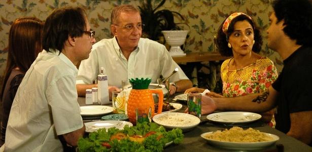 """Cena de """"A Grane Família"""" da Globo (2010)"""