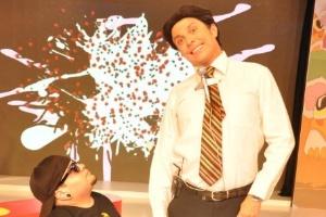 "Wellington Muniz imita Silvio Santos no programa ""Pânico na TV"", da RedeTV! (2010)"