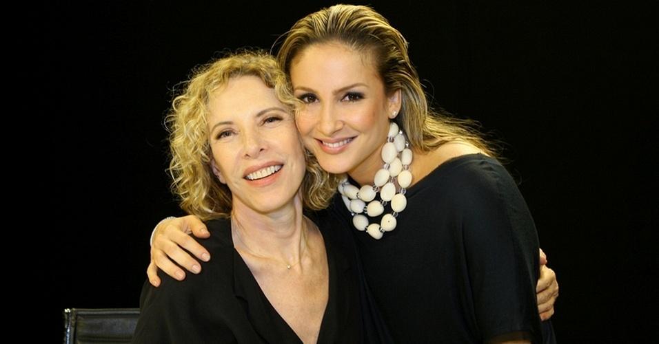 Marília Gabriela e Claudia Leitte no