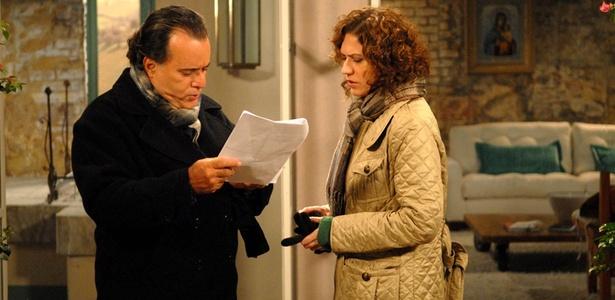 """Tony Ramos e Patrícia Pillar gravam cenas finais de """"Passione"""""""